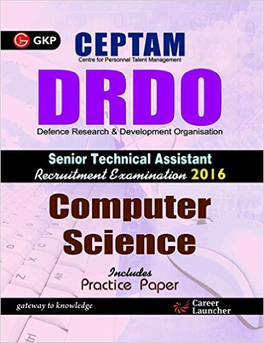 DRDO CEPTAM Sr.Tech. Asst. Computer Science