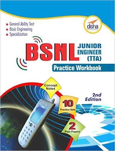 BSNL Jr Engineer TTA Exam Guide Practice Workbook