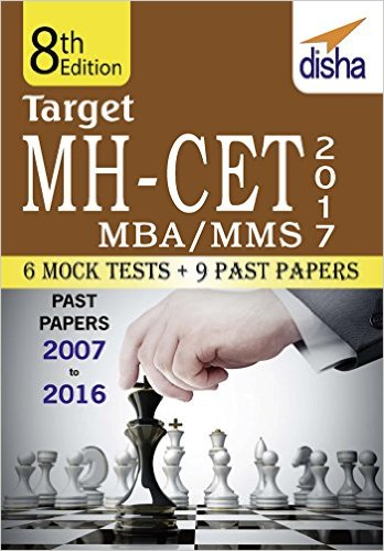 Target MH-CET 2017 (MBA/MMS) Past (2007 - 2016) + 6 Mock Tests